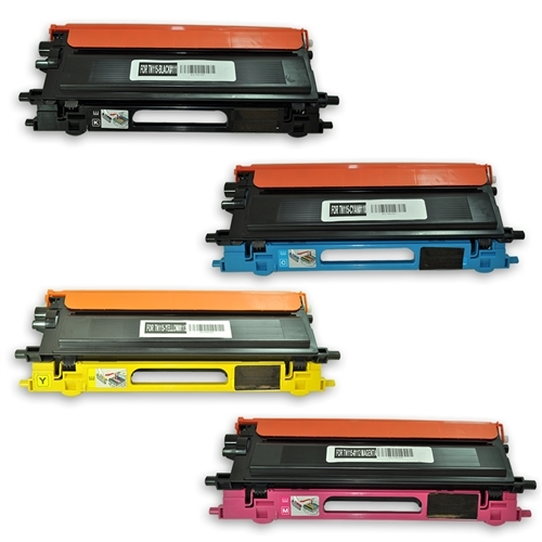 4 NON-OEM TN115 Toner For Brother MFC-9840 9450 9840 DCP-9040 9045 HL-4040 4070